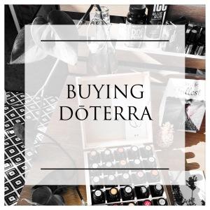 Buying DoTERRA Essential Oils